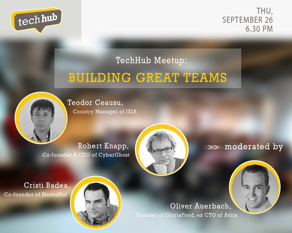 TechHub Event - Creating Amazing Teams