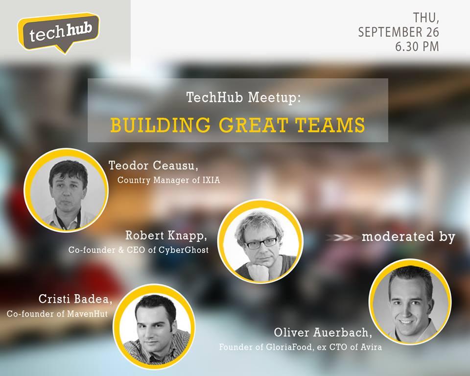 TechHub Event - Creating Amazing Teams
