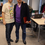 Bobby Voicu (MavenHut) and Bill Liao (SOSventures)
