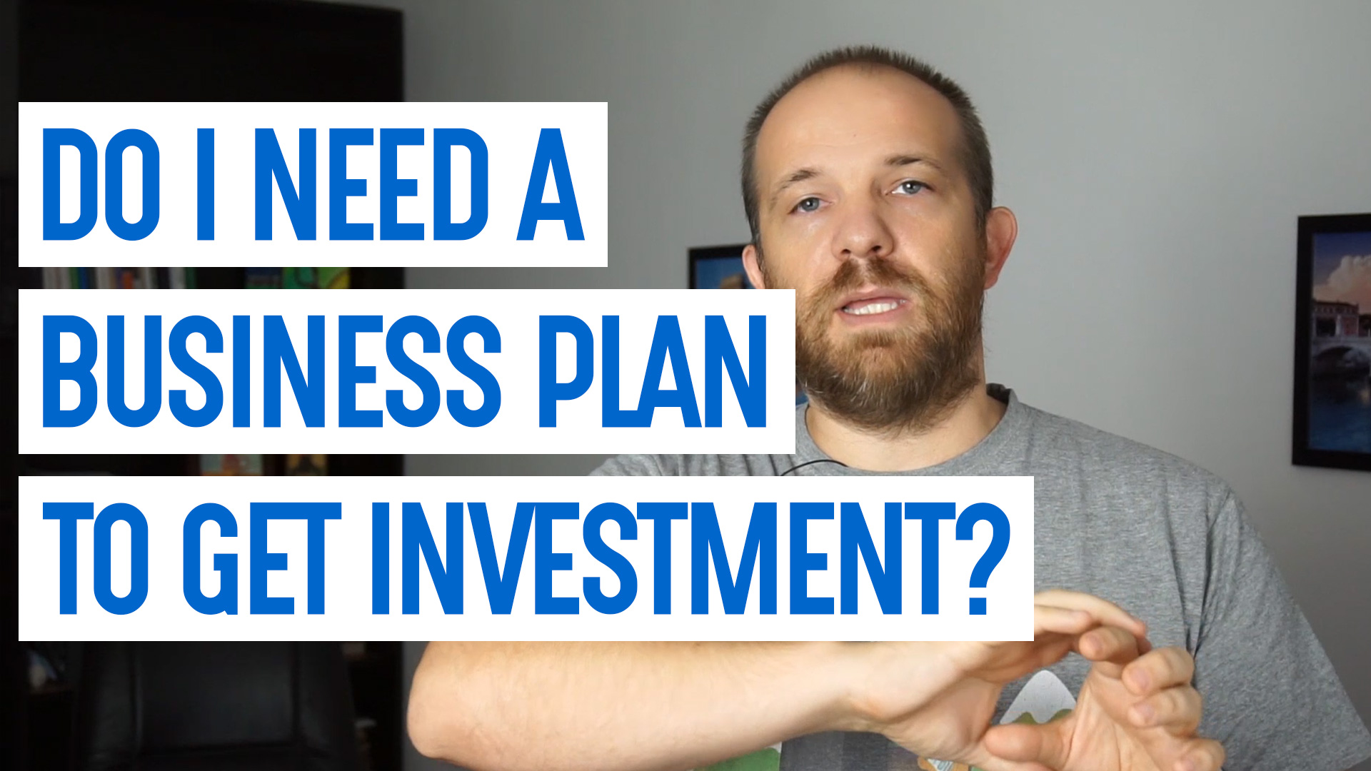 Do founders need a business plan