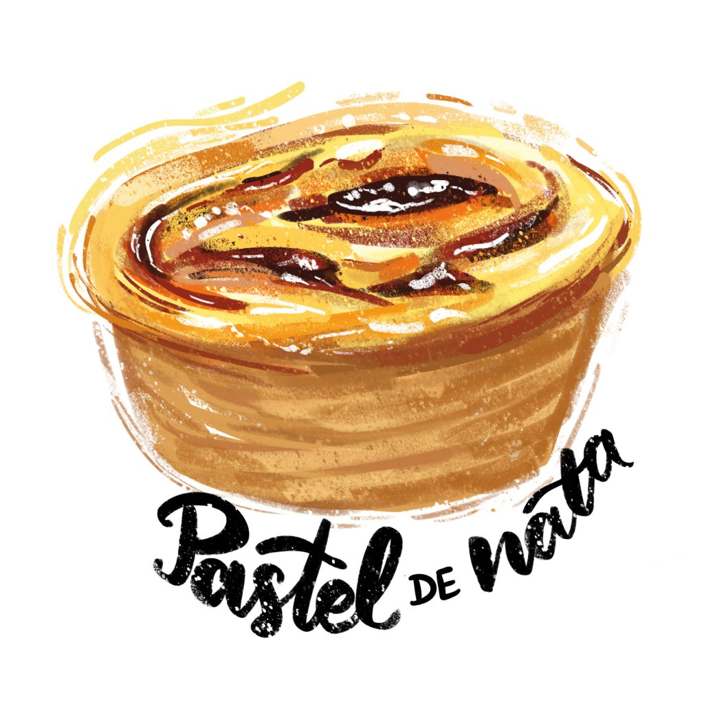 Pastel de Nata - Illustration