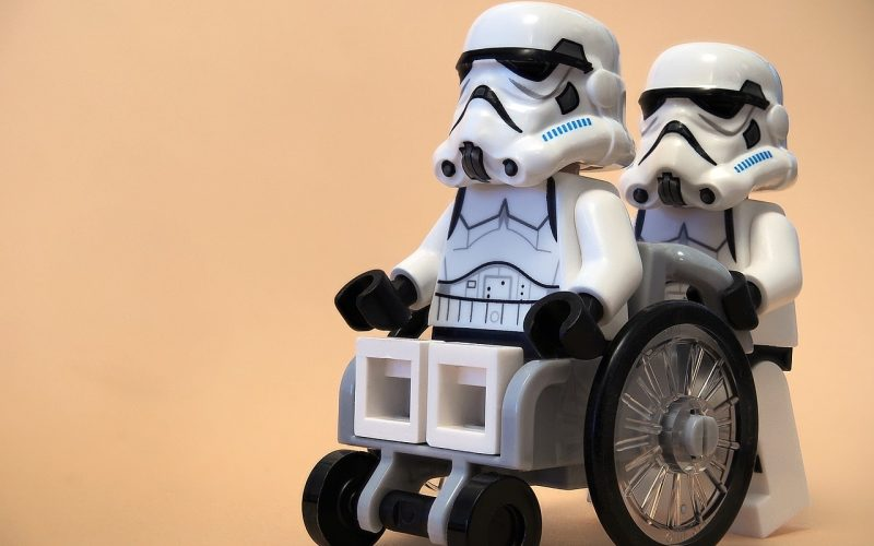 Stormtroopers lego wheel chair - Things you shouldn't hear from your doctor