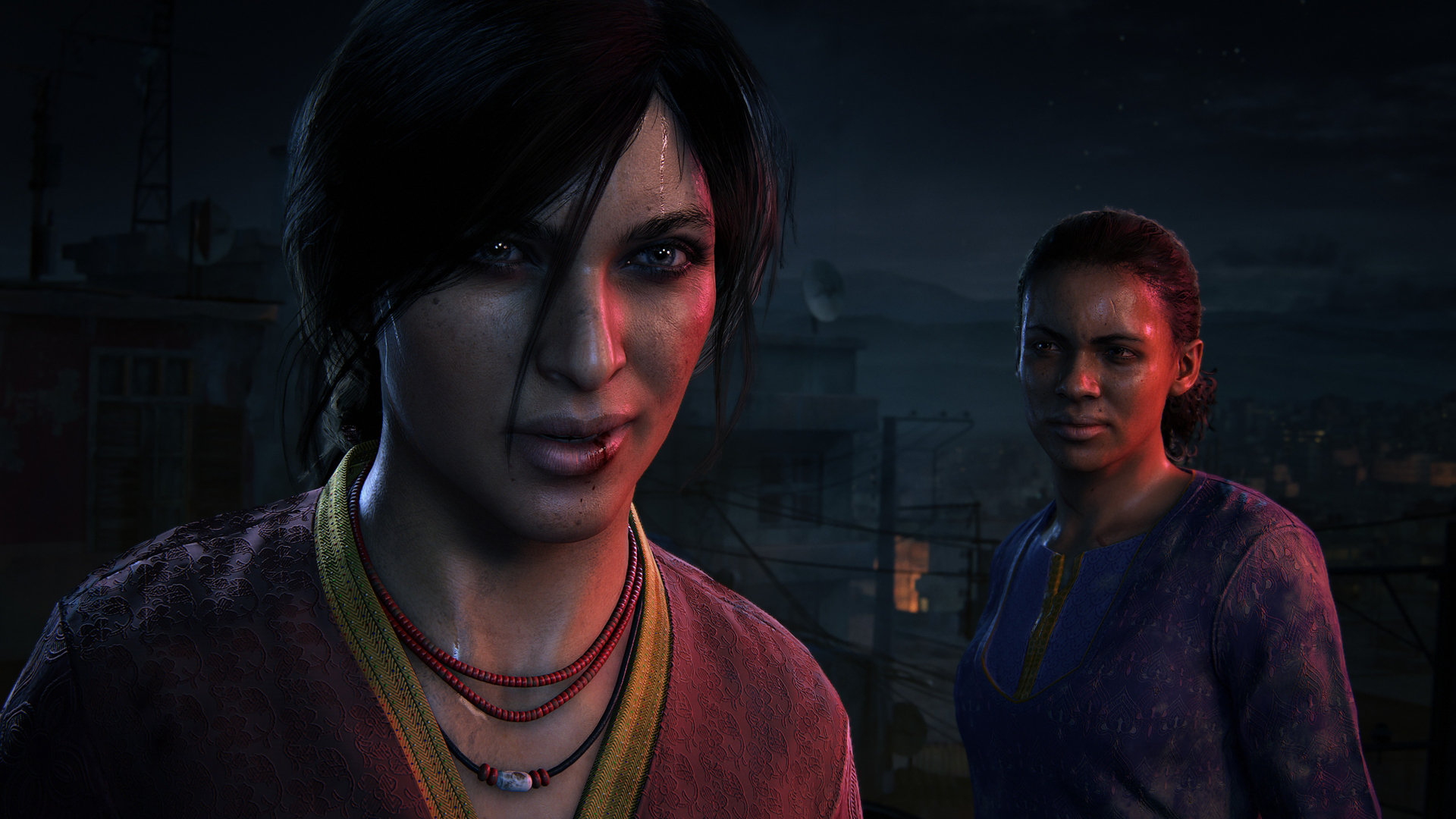 Uncharted: The Lost Legacy, Chloe and Nadine