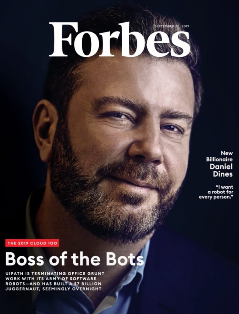 Dines UiPath Forbes