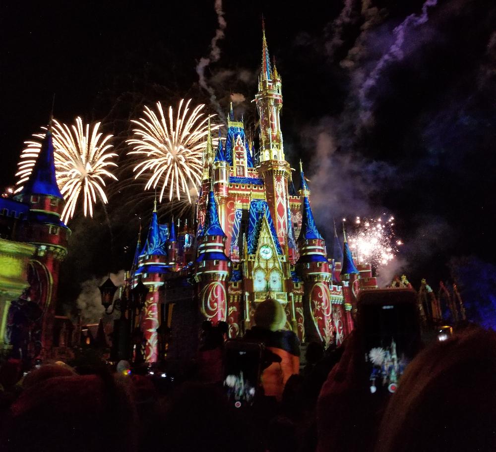 DisneyLand fireworks