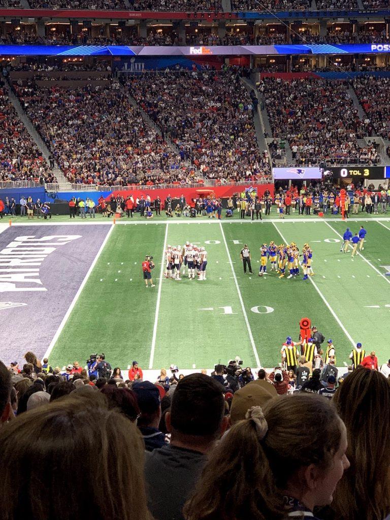 Patriots Rams
